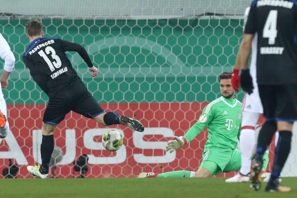 Der Treffer von Sebastian Schonlau in der 8. Minute wurde abgepfiffen.