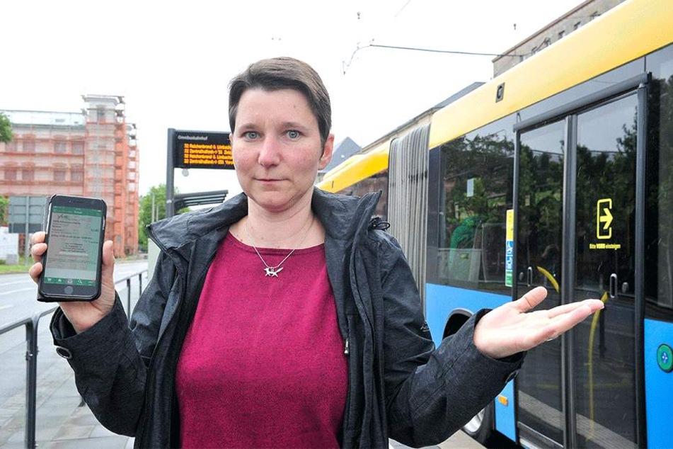 Stadträtin Katrin Pritscha (43, Linke) fordert W-LAN an den Haltestellen.