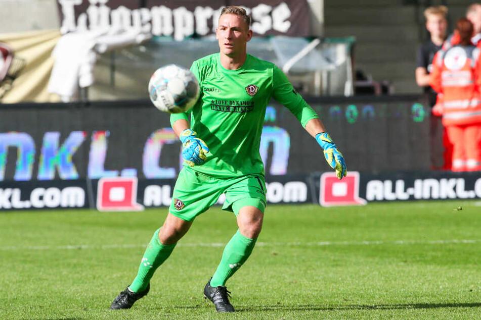 Auf ihn ist Verlass: Dynamo-Keeper Kevin Broll.