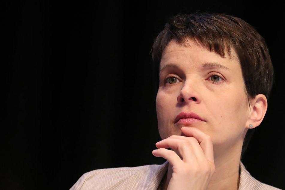Was wie ein Lob klingt, könnte in Wahrheit der Versuch sein, Frauke Petry (41) als Fraktionsvorsitzende zu verhindern.