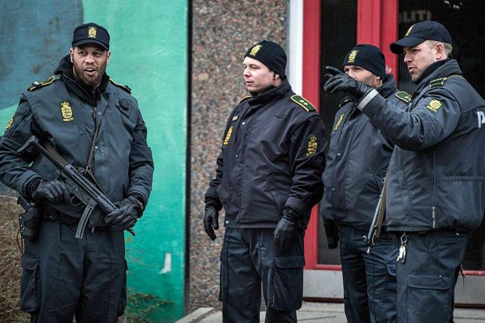 Die Polizei in Dänemark im Einsatz (Archivbild).