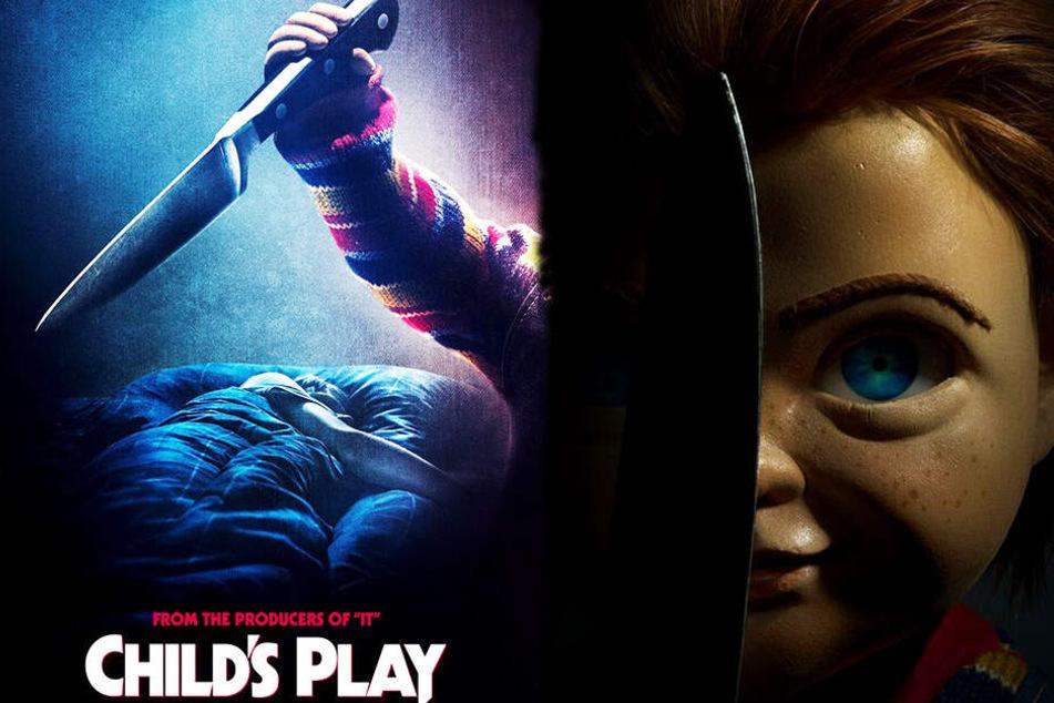 Mörderpuppe Chucky kehrt im Juli auf die deutschen Kino-Leinwände zurück. (Bildmontage)