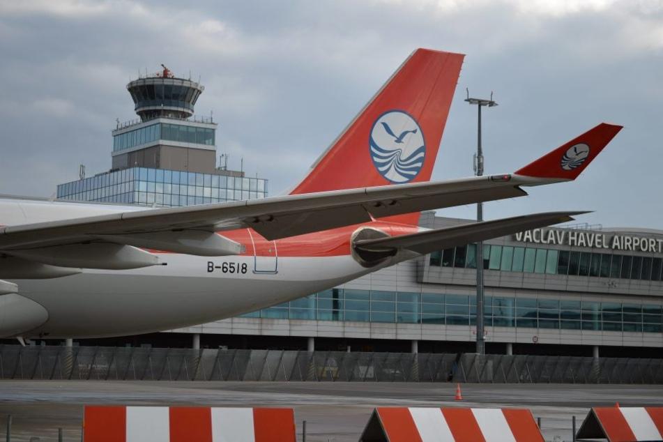 Der Prager Airport kann mit einer Vielzahl von internationalen Verbindungen  aufwarten - etwa nach China.