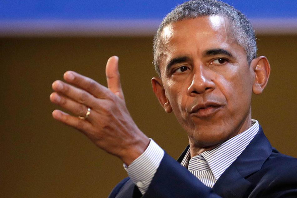 """Obama ist """"sehr stolz"""" auf seine Reform des amerikanischen Gesundheitswesens."""