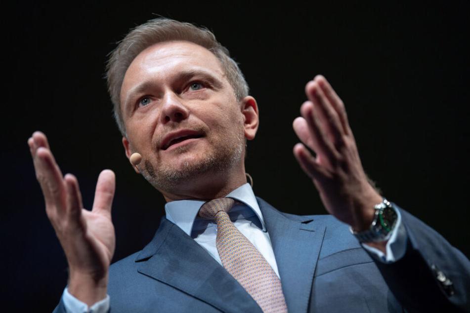 Christian Lindner will die Sanktionen des Jobcenters beibehalten.