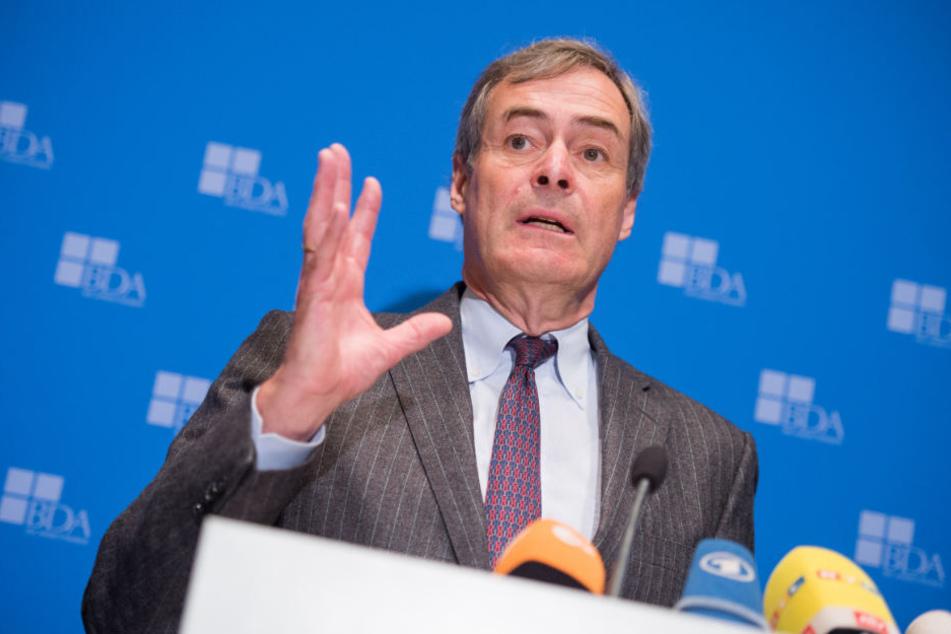 Ingo Kramer fordert eine Regelung für die Zuwanderung Ungelernter. (Archiv)
