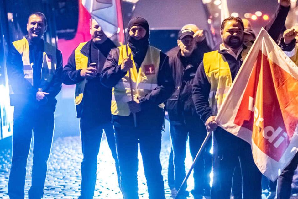 Unbefristeter Busfahrer-Streik in Frankfurt und Hessen ab Dienstag