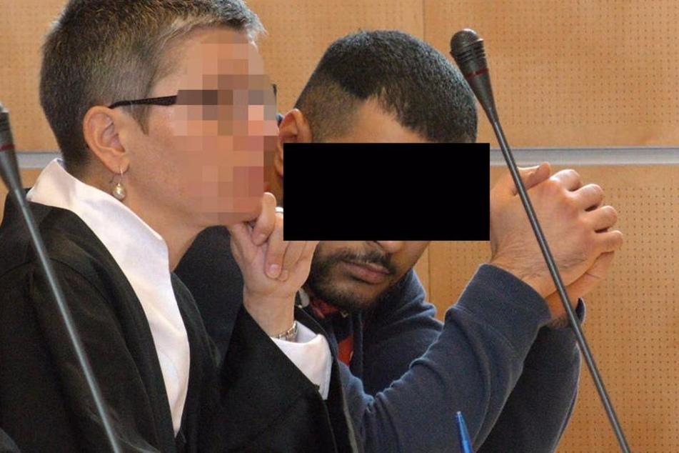 Hicham S. soll letztlich mit einem Klappmesser das Opfer tödlich am Hals verletzt haben.