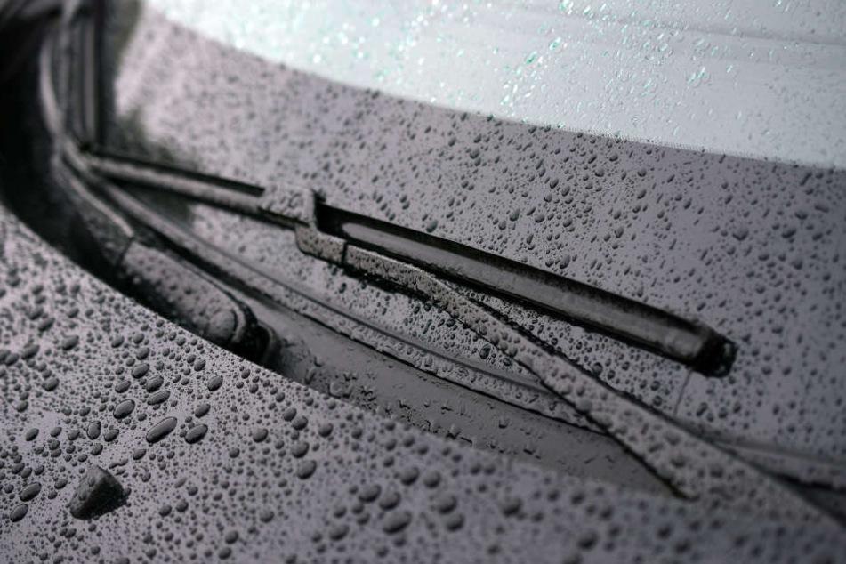 Die Scheibenwaschanlage  kann gleich auf kühlere Temperaturen eingestellt werden.