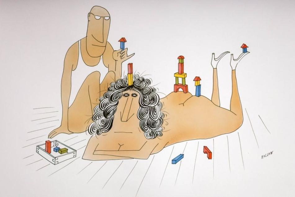 schwangere nackt karikaturen