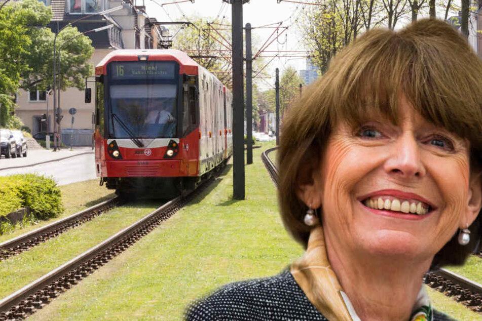 Reker möchte den Nahverkehr in Köln modernisieren.