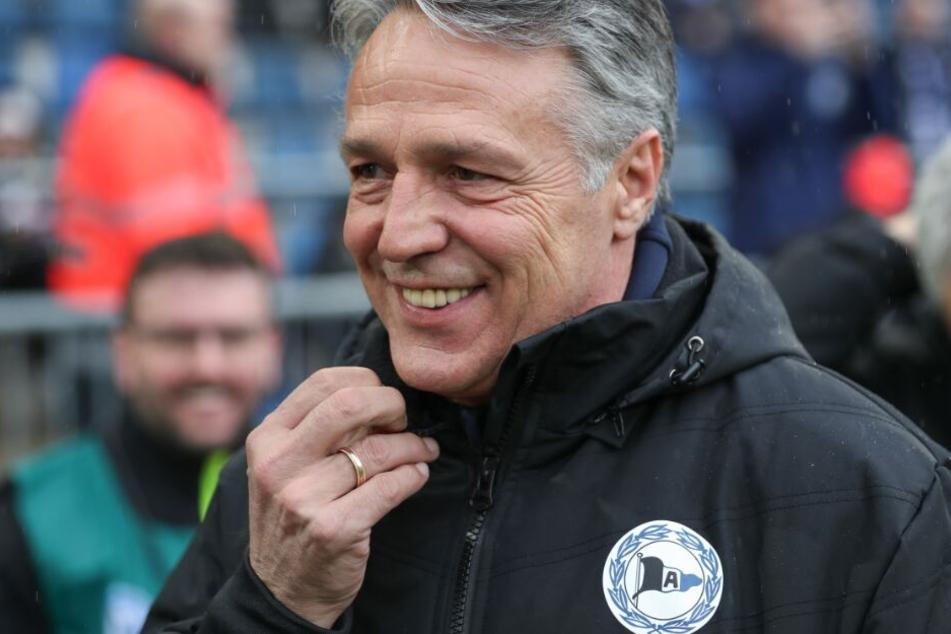 DSC-Coach Uwe Neuhaus hat wegen den Ausfällen in der Mannschaft derzeit nicht viel zu lachen.