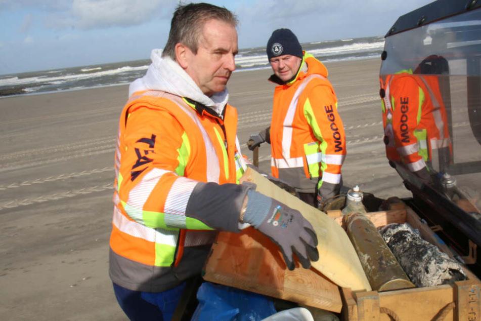Am Strand von beliebter Nordsee-Insel schlummern gefährliche Überbleibsel