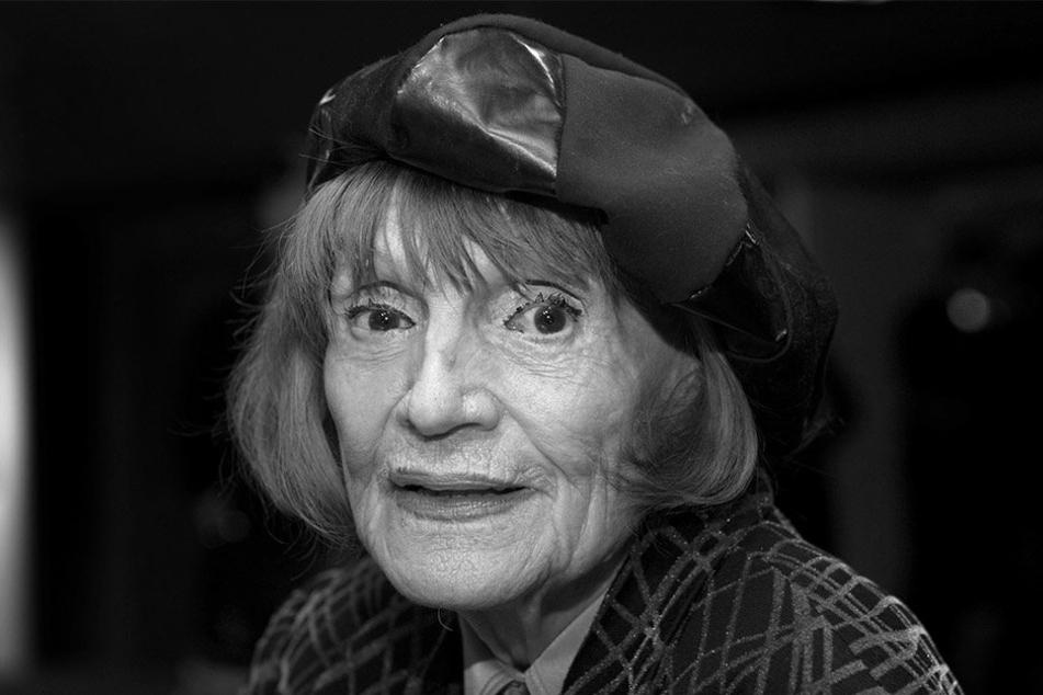 Gisela May starb im Alter von 92 Jahren.