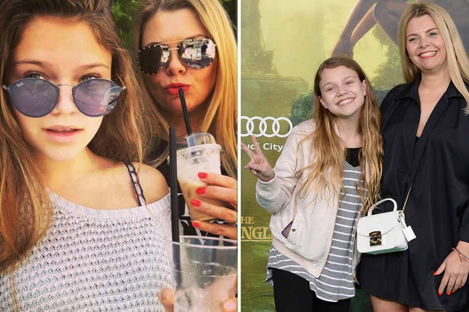 Anne-Sophie Briest (44) ist vom neuen Musikvideo von Katja Krasavice nicht begeistert. Ihrer 14-jährigen Tochter Faye Montana gefällt er schon besser.