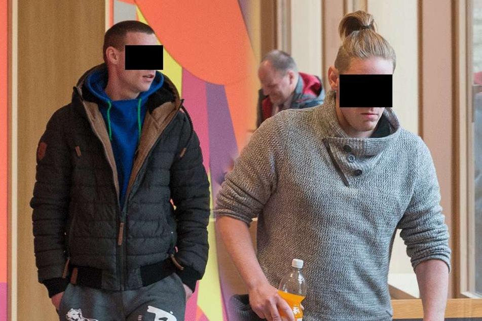 Philipp G. (27, l.) und Christoph K. (30, r.).