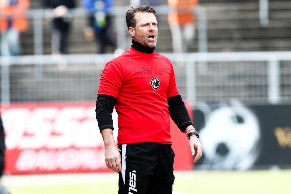 Rico Schmitt (52) soll den SV Meppen vor dem Abstieg bewahren.
