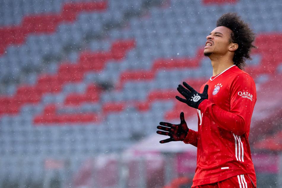 Leroy Sané (25) vom FC Bayern München steht im Fokus.