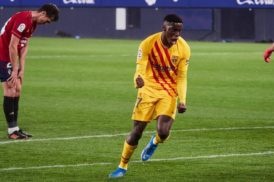 Ilaix Moriba (18) steht kurz vor dem Wechsel zu RB Leipzig. Beim FC Barcelona spielte er zuletzt stark auf.