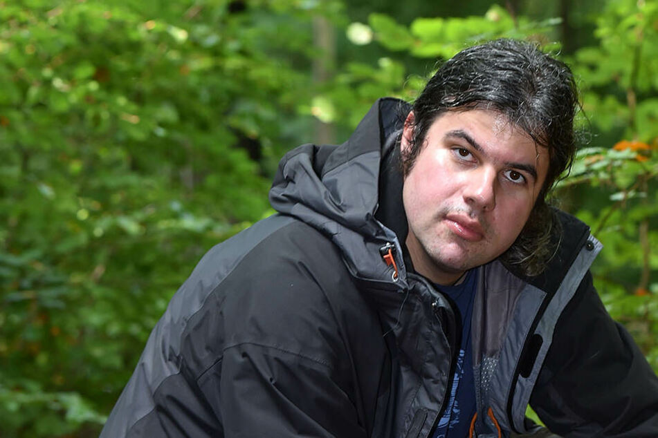 Pilzexperte Stefan Zinke (37) hofft auf Regen.