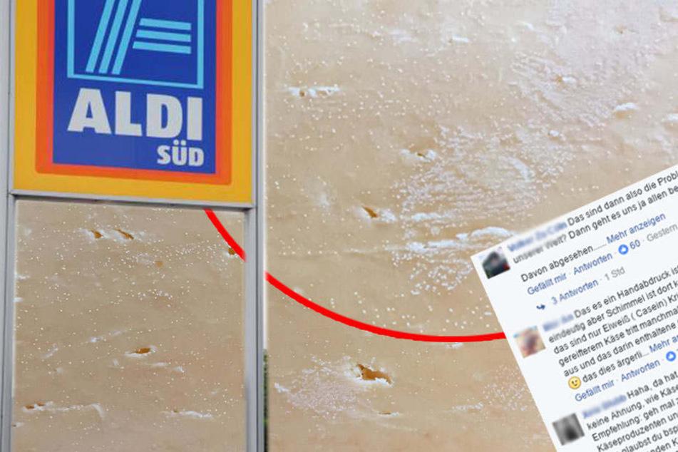 Aldi-Kunde Entdeckt Fingerabdrücke Auf Käse Und Erntet Shitstorm