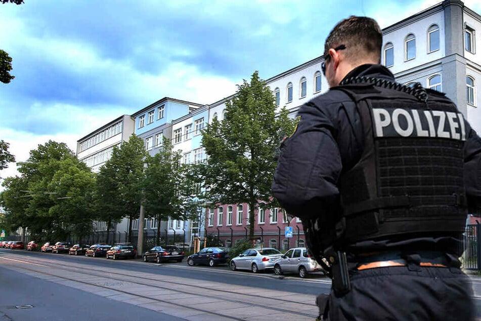 In der Hamburger Straße in Dresden kam es zur Auseinandersetzung im Asylheim. (Fotomontage)