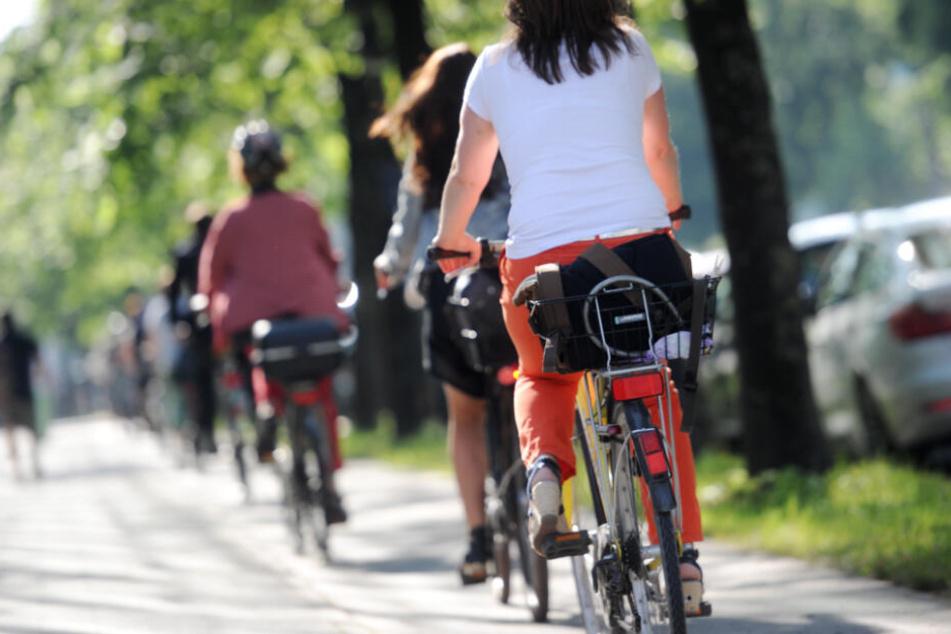 160.000 Menschen haben für bessere Radwege und einen Radlring um die Altstadt in München unterschrieben. (Symbolbild)