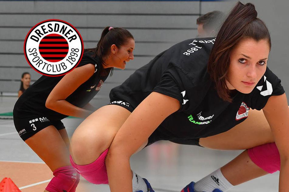 Hobby-Triathletin Eva ist heiß auf Volleyball mit dem DSC
