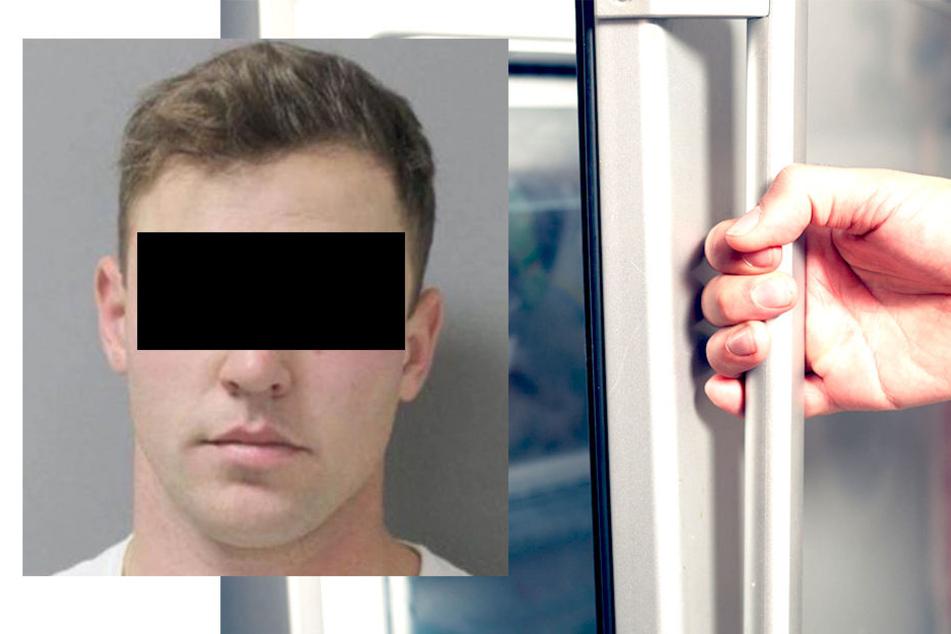 Samuel S. (24) wurde Donnerstagnacht wegen Tierquälerei festgenommen.