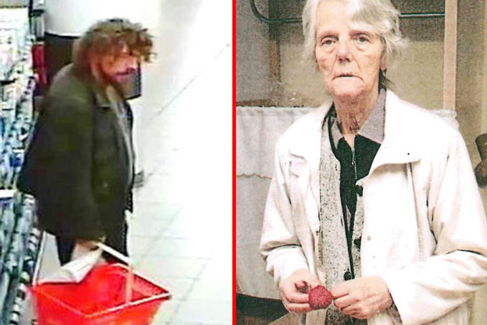 Ilona F. wird seit einer Woche vermisst (F.r.), sie soll in Begleitung ihres Sohnes Michael (F.l.) sein.