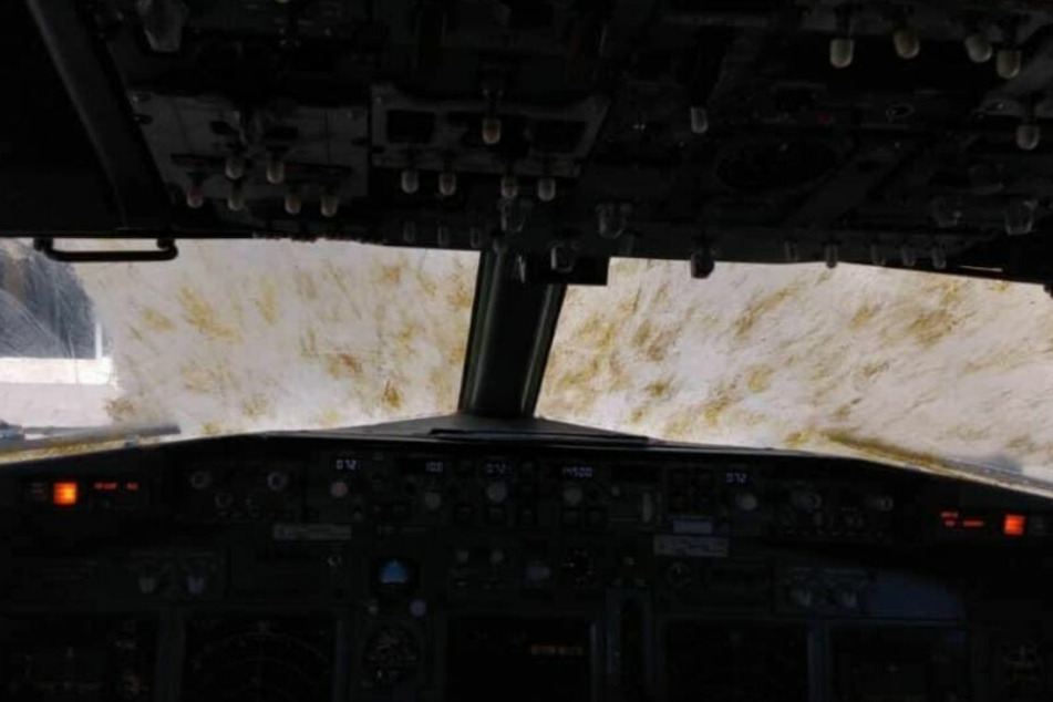 """Der Blick aus dem Cockpit war """"suboptimal""""."""