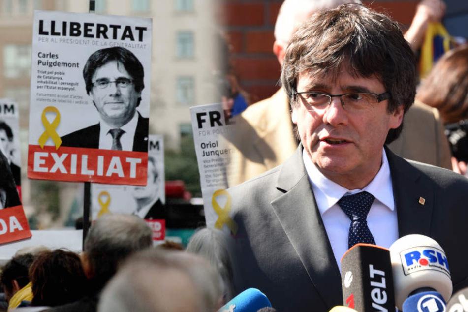Frist läuft ab! Puigdemont wartet auf Entscheidung der Justiz