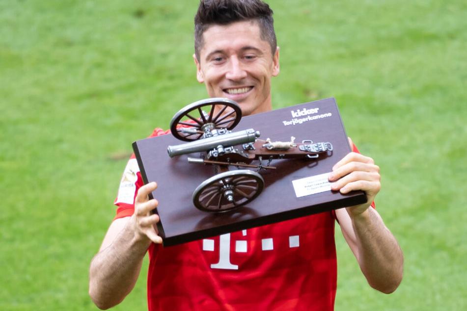 Robert Lewandowski könnte seine Karriere beim FC Bayern München beenden.