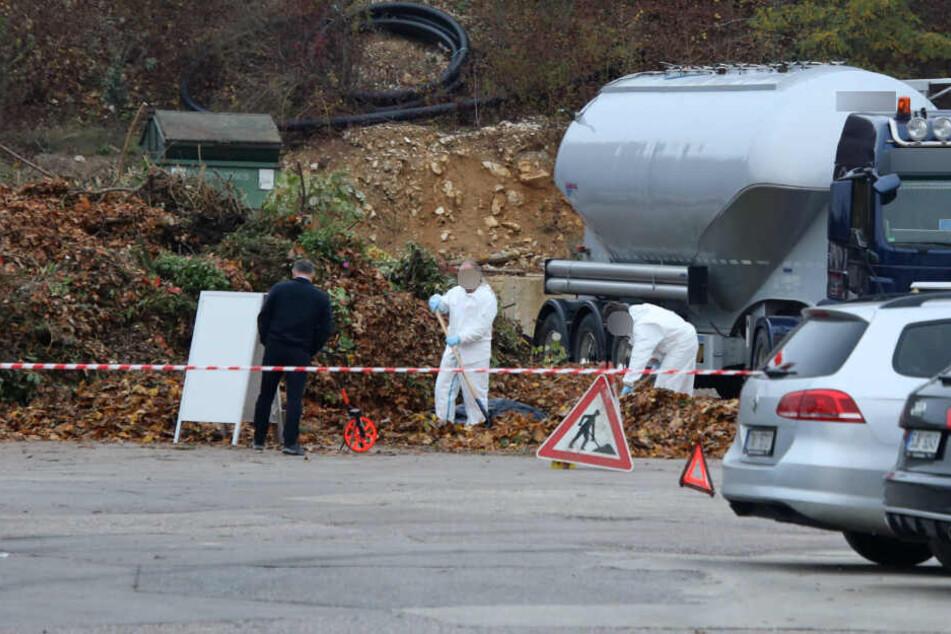 Leiche auf Speditionsgelände entdeckt: Polizei steht vor Rätsel