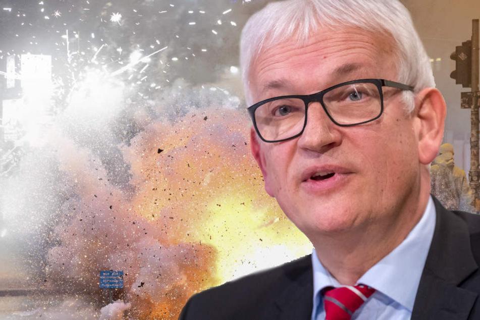 Jürgen Resch, Bundesgeschäftsführer der Deutschen Umwelthilfe, spricht über ein Böllerverbot in deutschen Großstädten.