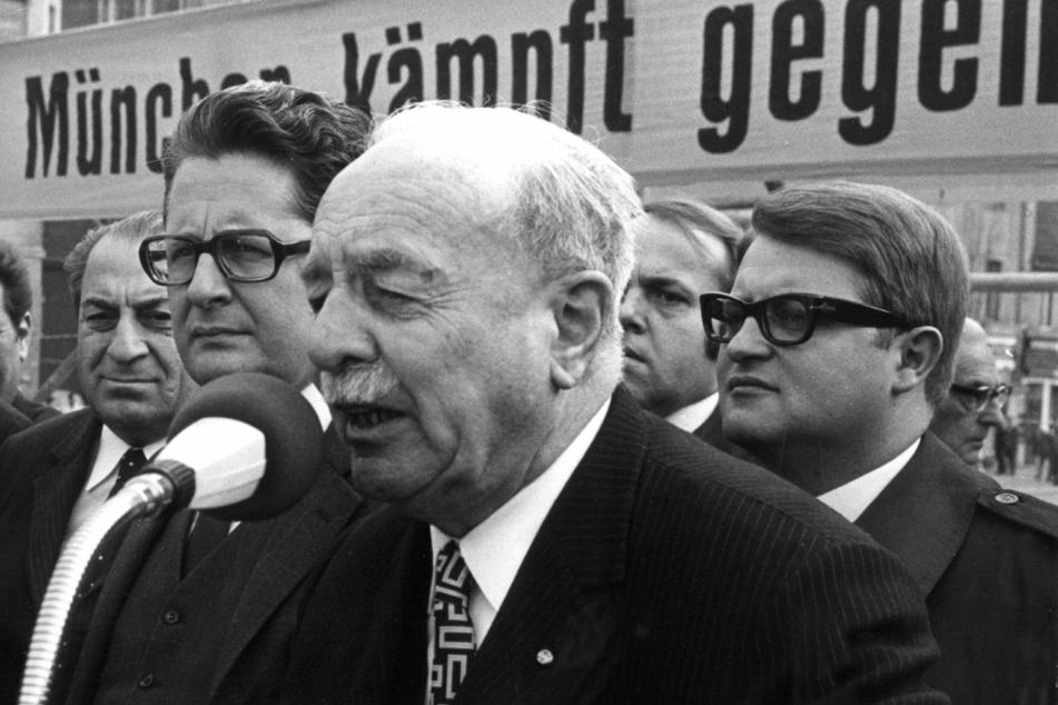 Wilhelm Hoegner starbam 5. März 1980 in München. (Symbolbild)