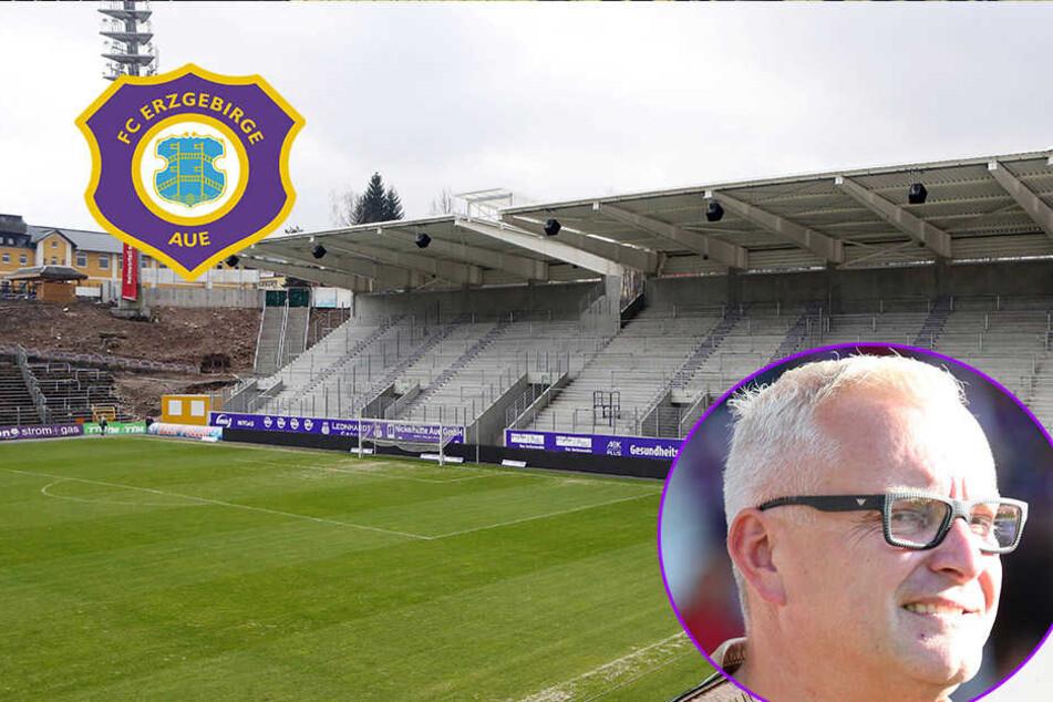 """Aue-Boss Voigt: """"Das Stadion wird unser Weihnachtsgeschenk"""""""