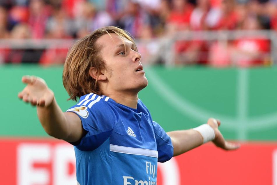 Fußballspieler Alen Halilovic wechselt von Hamburg nach Mailand.