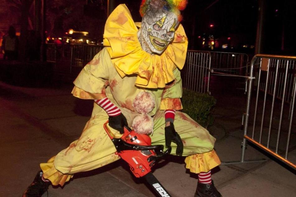 Überall auf der Welt werden Killer-Clowns gesichtet. Nun auch in Leipzig (Symbolbild).