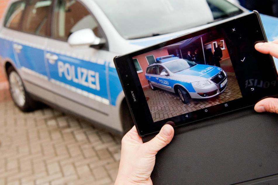 In anderen Bundesländern wurde die Polizeiarbeit bereits digitalisiert. (Symbolbild)