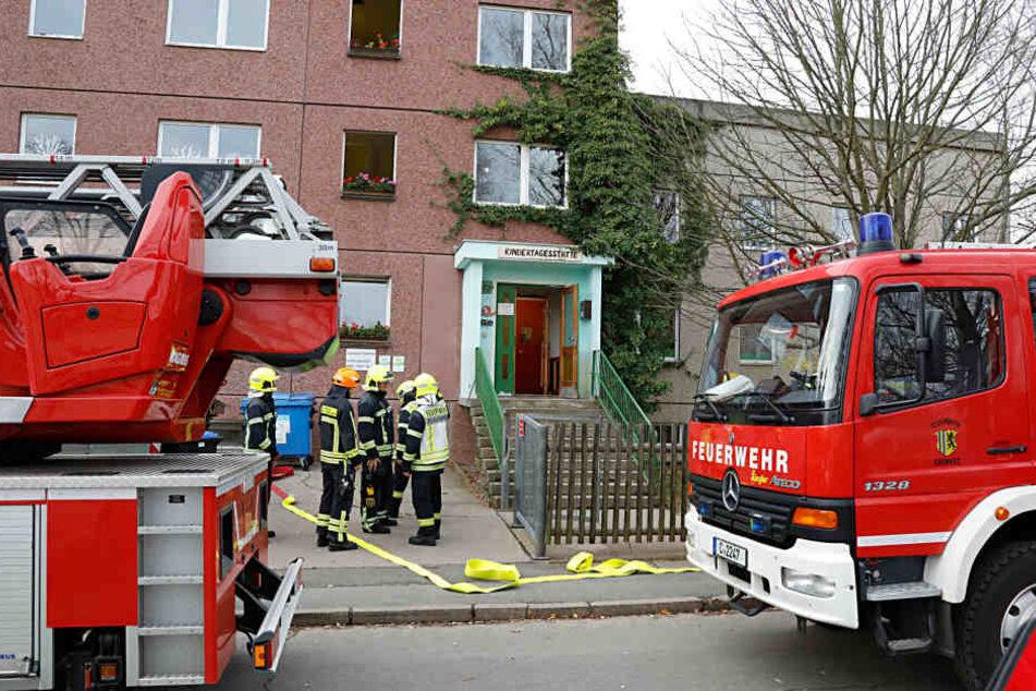 In der Kita in der Walter-Ranft-Straße gab es am Donnerstag einen Schwelbrand.