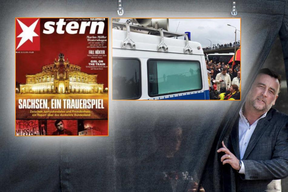 """Der """"stern"""" arbeitet sich in seiner Titelgeschichte an allen sächsischen Krankheiten ab."""