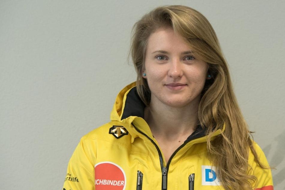 Stephanie Schneider ist die Geheimwaffe für Olympia.