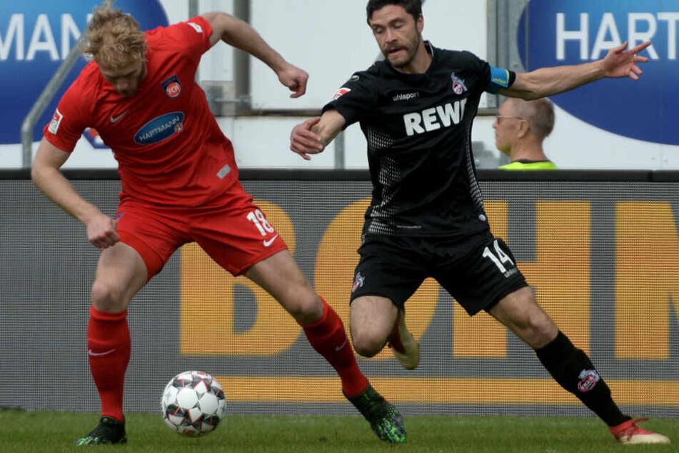 Die Kölner um Kapitän Hector zeigten in Heidenheim eine souveräne Leistung.