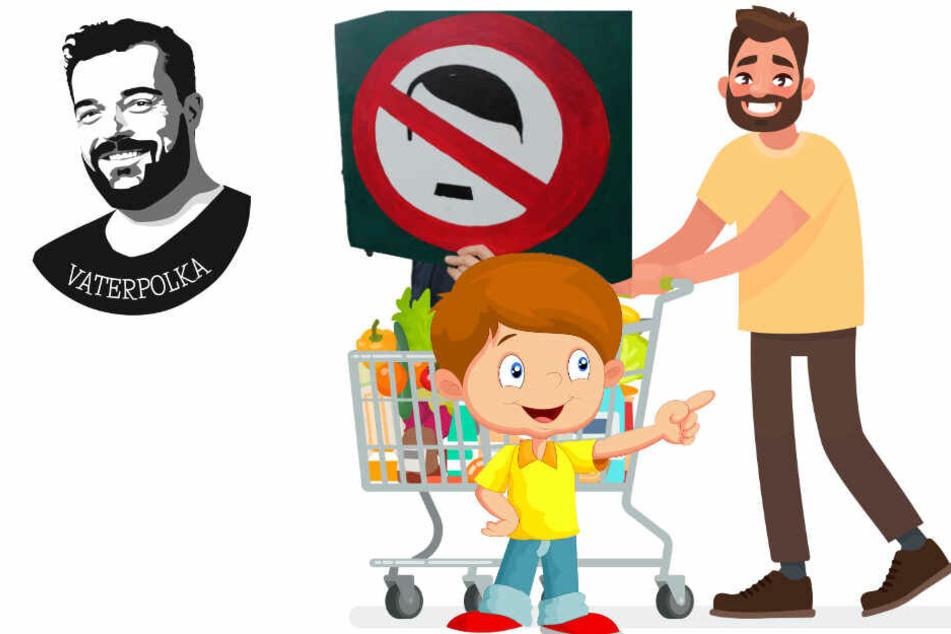 Als mich meine Kinder im Supermarkt zum Neonazi machten