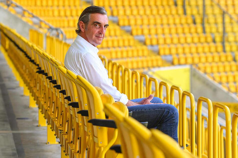Ralf Minge ist froh, wieder bei Dynamo zu sein.