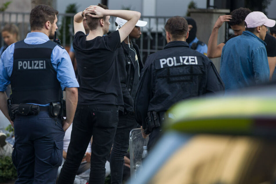 Rund 80 Angreifer konnten festgenommen werden.