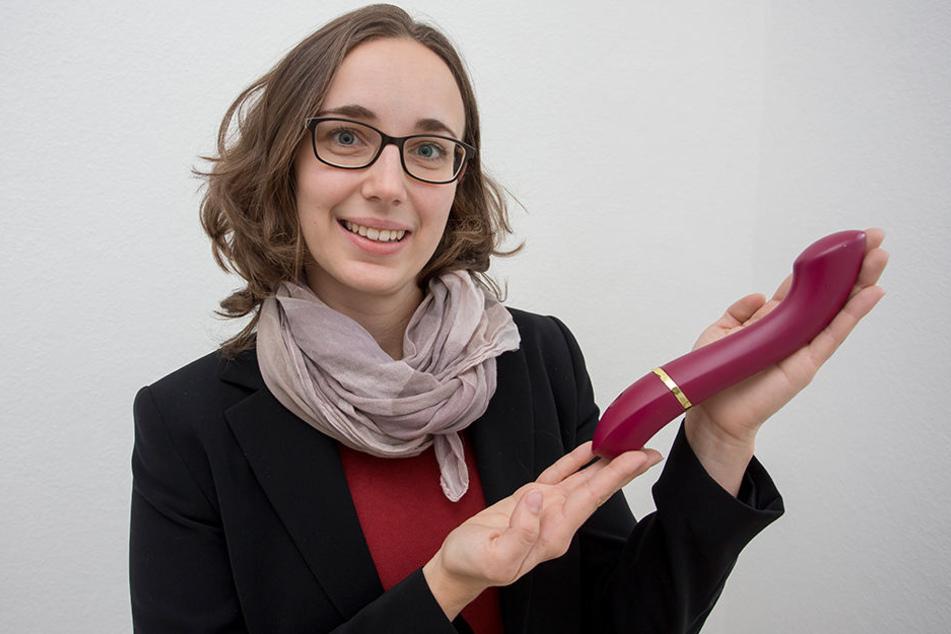 Lautlos zum Hochgenuss: Julia Ryssel (29) entwickelte den lautlosen Vibrator.