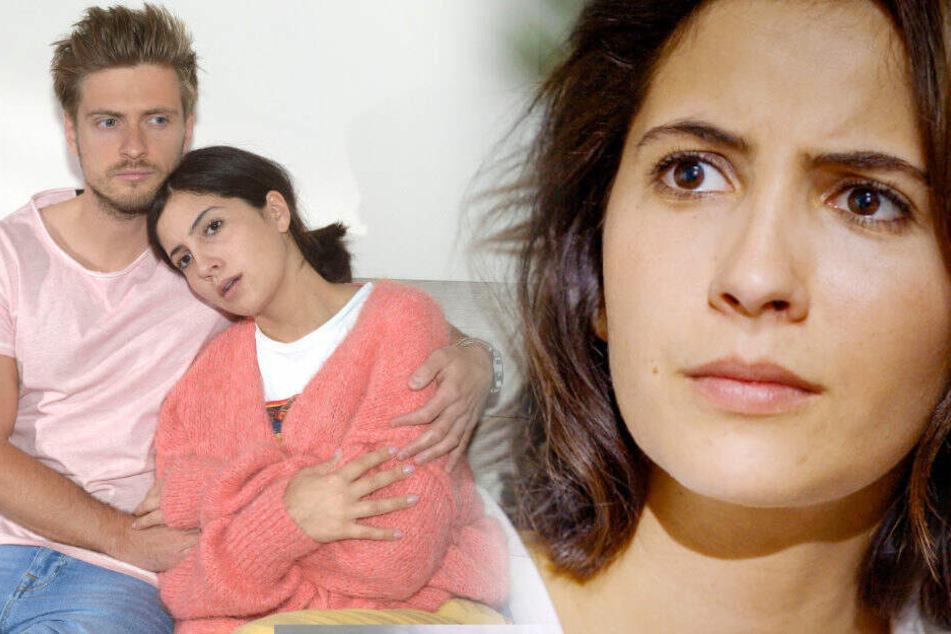 Laura wird von Philip getröstet.