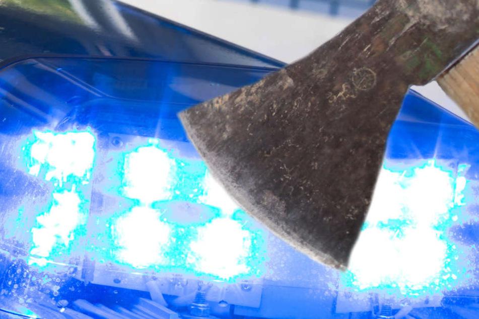 Der Vater des 19-Jährigen erlitt etliche Schnittverletzungen (Symbolbild).